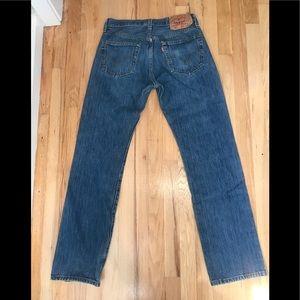 Mens Levi 's  501 Jeans  31/34